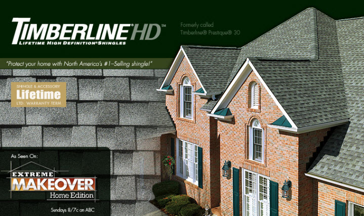 Timberline HD Roofing Shingles ...